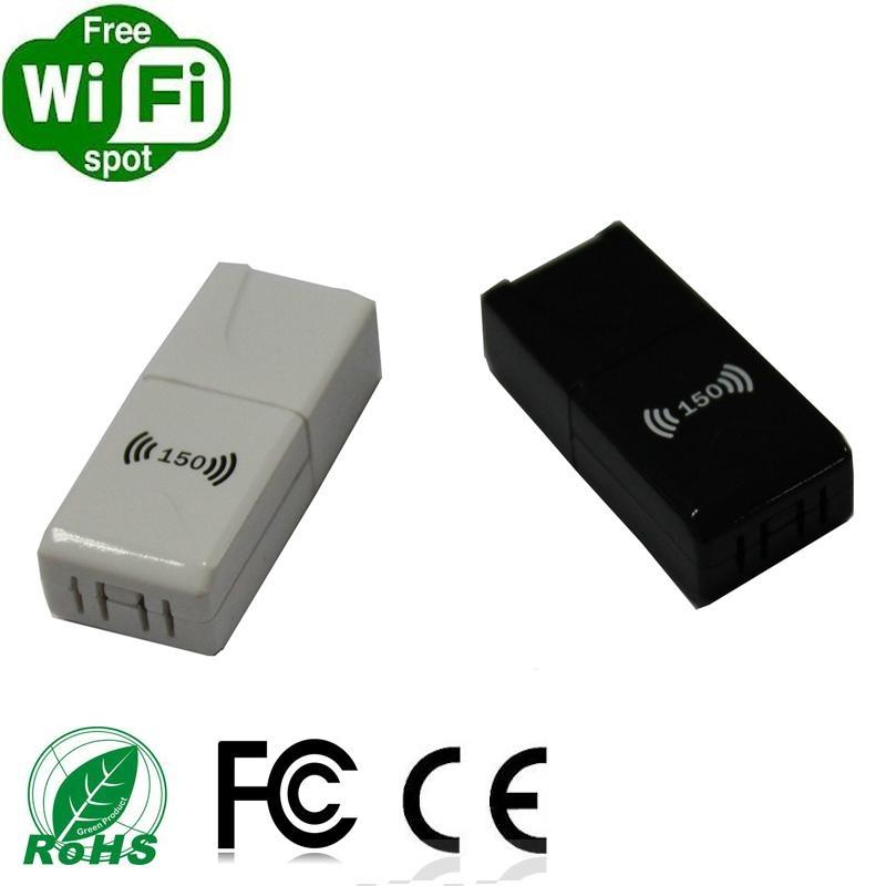 Nano MINI 150Mbps Wirelss Wifi USB dongle 2
