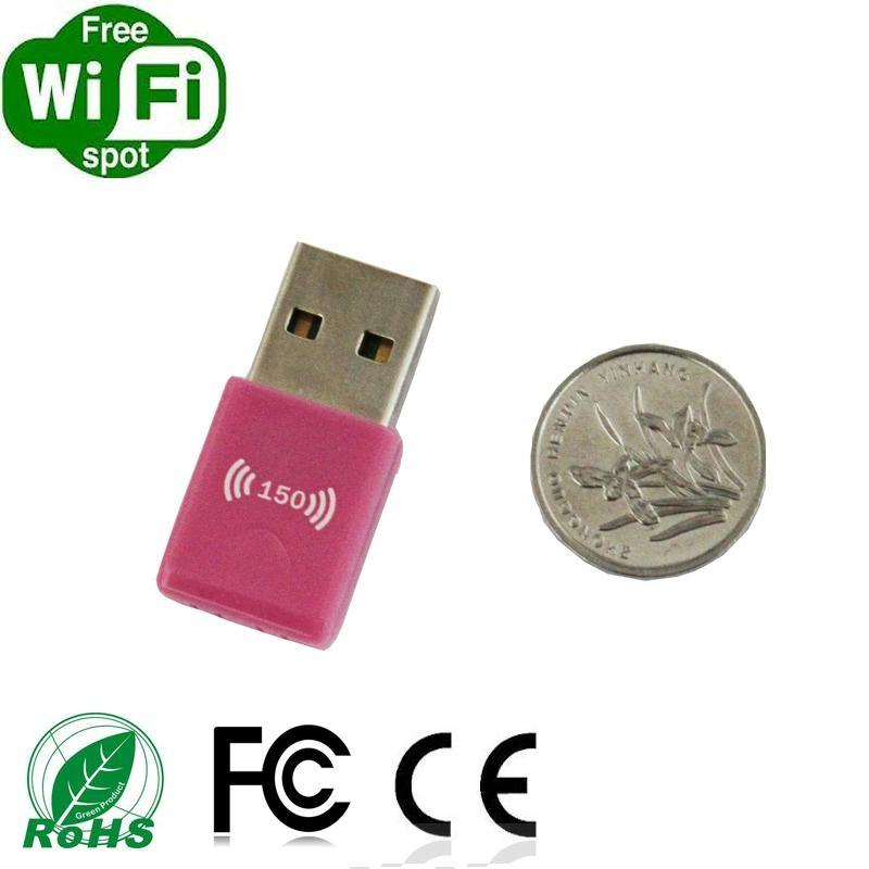RT5370 150Mbps External  Wirelss Wifi USB adapter 1