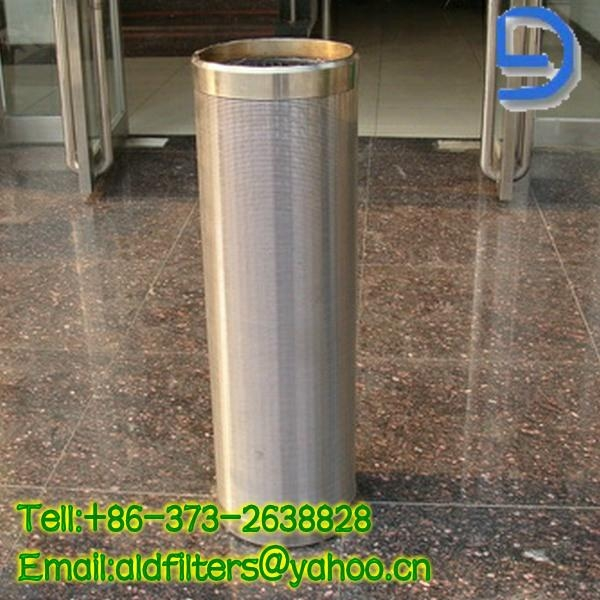 Cylinder shape wedge wire  1