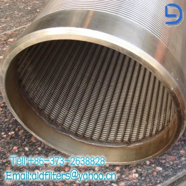 Cylinder shape wedge wire  3