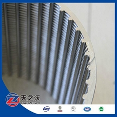 v shape wire screen pipe --- professional factory