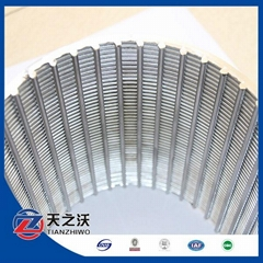 stainless steel water well screen pipe (manufacture)