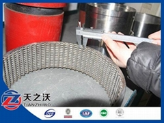 johnson wire filter screen pipe (peofessional factory)