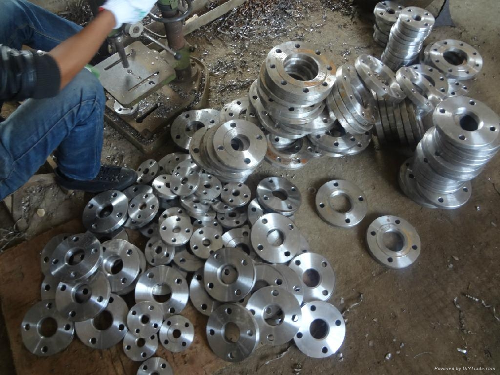 , flange, blind, elbow, three, different-diameter pipe, steel pipe manufacturing 5