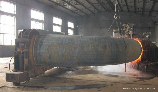 The supply of carbon steel low carbon steel alloy steel flange pipe fittings 3
