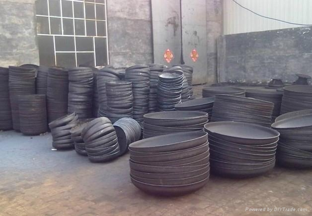 Thermal insulation pipe, steel pipe, flange 1