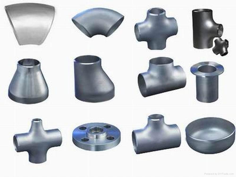 盐山法兰对焊管件 1
