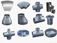 盐山法兰对焊管件