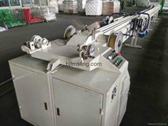 China manufacturer 1T-60T round sling machine to slings