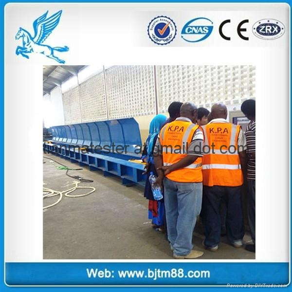 300T horizonal tensile testing machine for wire rope&chain&webbing sling&shackle 4