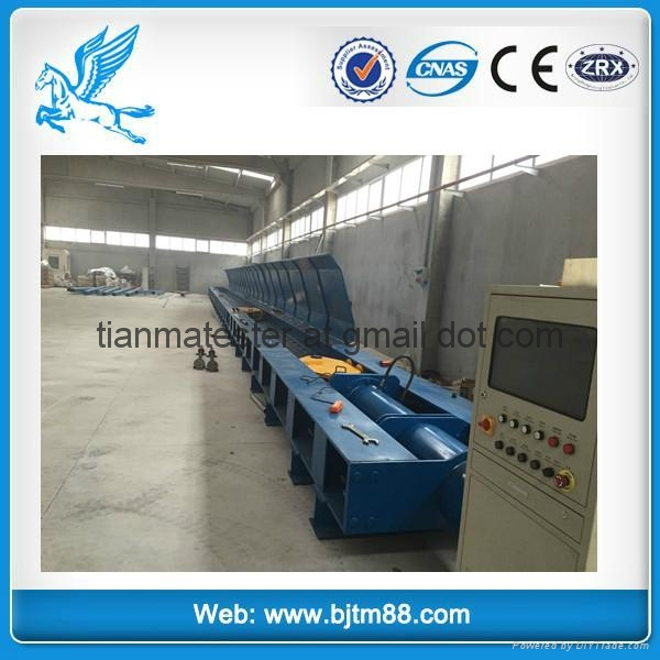 200T Horizontal wire rope Testing bed /chain sling test equipment 1