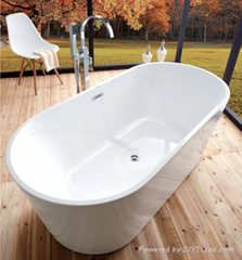 freestanding bathtub soaking bathtub acrylic bathtub