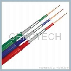 Bulk audio video cable