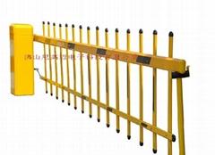 小區單層欄柵道閘
