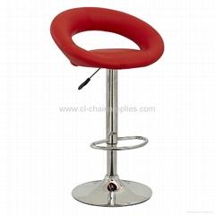 swivel chrome adjustable bar stool 3230