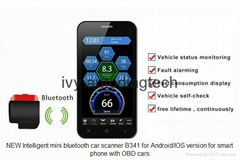 Auto IOBD2 EOBD OBD2 Scanner bluetooth Scan Tool Code Reader For Android & IOS