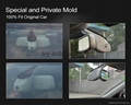 1080p mercedes benz BMW dvr with camera hidden in the frame of rearview mirror 4