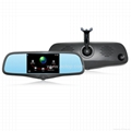 Smart mirror GPS with DVR