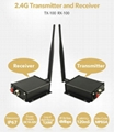 2.4G Wireless Transmitter and Receiver for truck rear view system