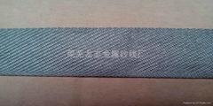 金属纤维机织带