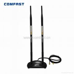 COMFAST CF-ANT2410DA dual 10dBi omni 2.4GHz rubber duck antenna