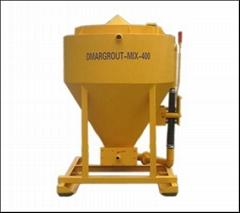 Colloidal high-shear grout mixers