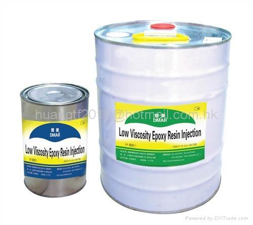 Low Viscosity Epoxy Resin Injection 1