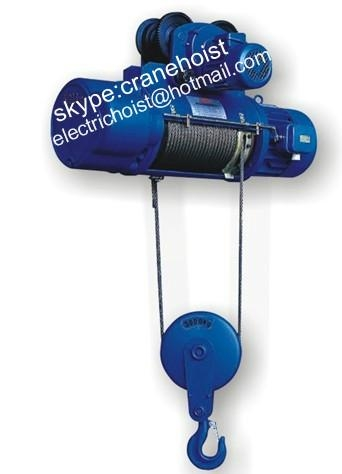 CD1 wire rope Electric Hoist  1
