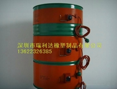 硅膠油桶加熱器