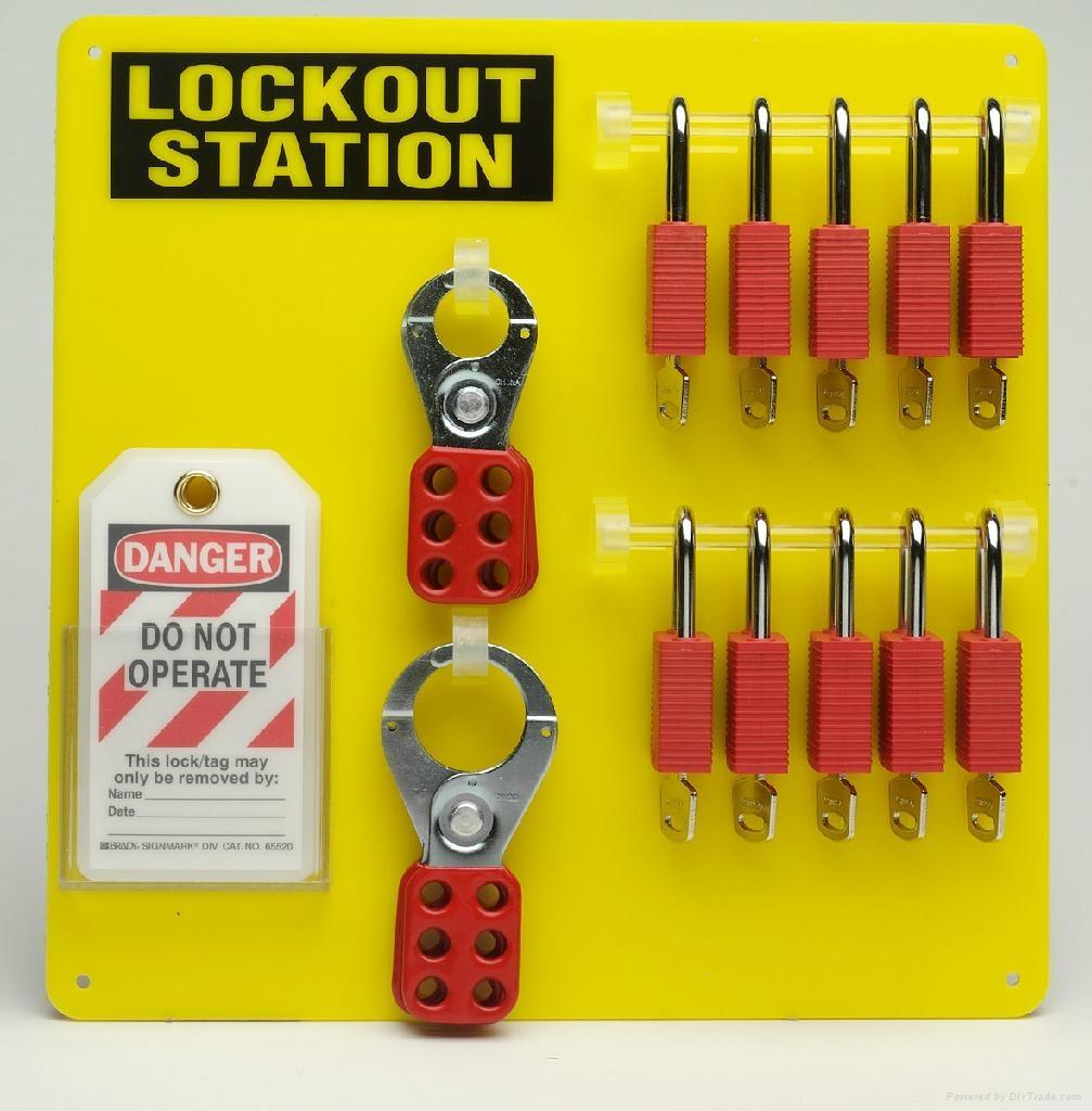 美國貝迪挂鎖鎖具 3