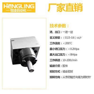 灌胶机齿轮泵 2