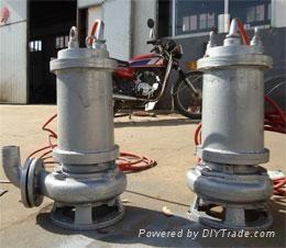 耐高温316不锈钢排污泵 1