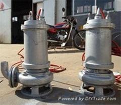 耐高温316不锈钢排污泵