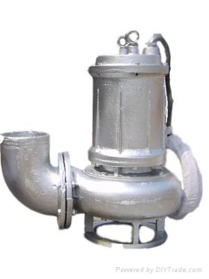 耐高温316不锈钢排污泵 2