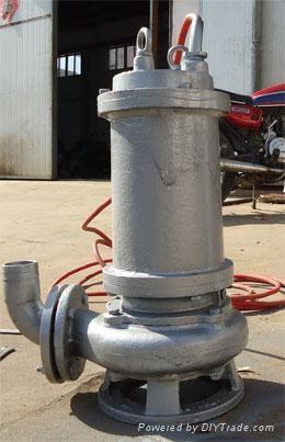 耐高温316不锈钢排污泵 4