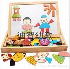 亲子儿童智力益智玩具磁性拼拼乐