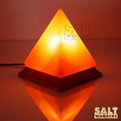 Pyramid Shape Salt lamps