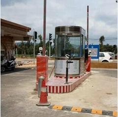南京停車車牌自動識別收費管理系統