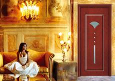 廠家推薦XJS-136七吉玻璃雕花烤漆實木門