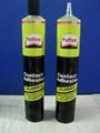Glue packaging tube