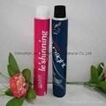 Aluminun packging tube for hair dye