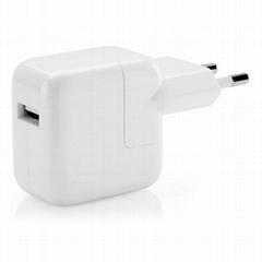 EU Apple IPad USB Power Adapter 5V2.1A Charger European Round Pin