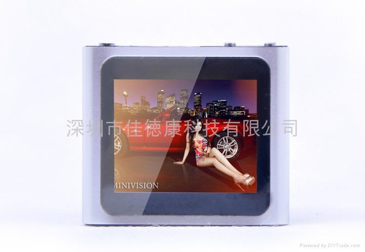 六代触摸屏小夹子MP4  2