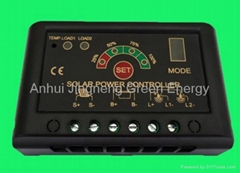 5A to 30A 12V/24V Auto Solar Charge Controller with Power display & CE