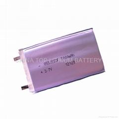 3.7V 5AH Storage battery E-bike battery tablet battery solar battery from factor