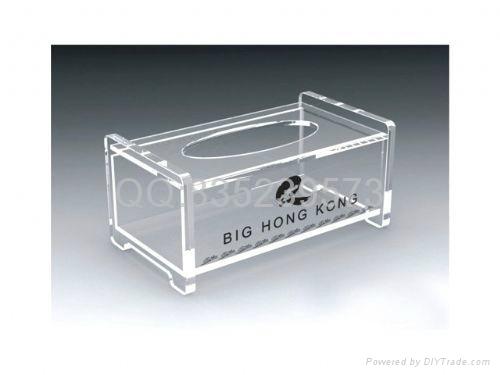 亞克力紙巾盒 1