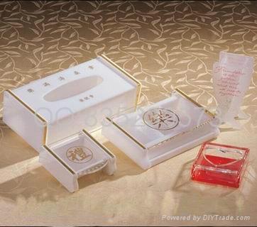 亞克力紙巾盒 3