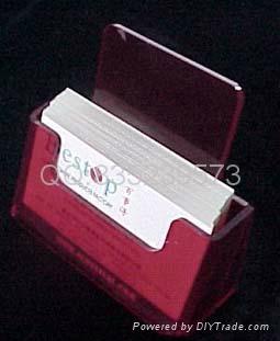 有機玻璃名片盒 2