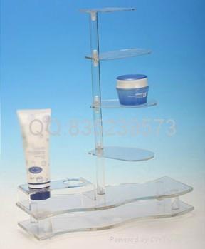 有機玻璃化妝品展示架 4