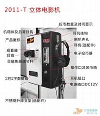 3DV4 2016-T 投幣式立體電影機